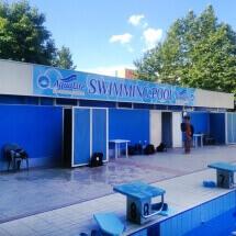 Външна реклама на плувен басейн - реклама Варна