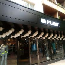 Външна облицовка от еталбонд и светещи букви - еталбонд Варна